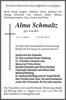 Alma Schmaltz
