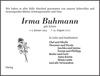 Irma Buhmann