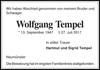 Wolfgang Tempel