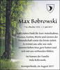 Max Bobrowski