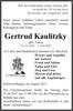 Gertrud Kaulitzky