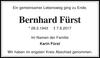 Bernhard Fürst