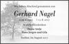 Gerhard Nagel