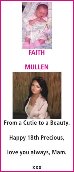 MULLEN : Birthday