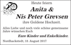 Anita Nis Peter Grevsen