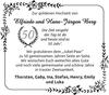 Elfriede und Hans-Jürgen