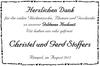 Christel und Gerd Stoffers