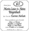 Marie-Luise und Heinz Ringenbach
