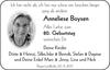Anneliese Boysen