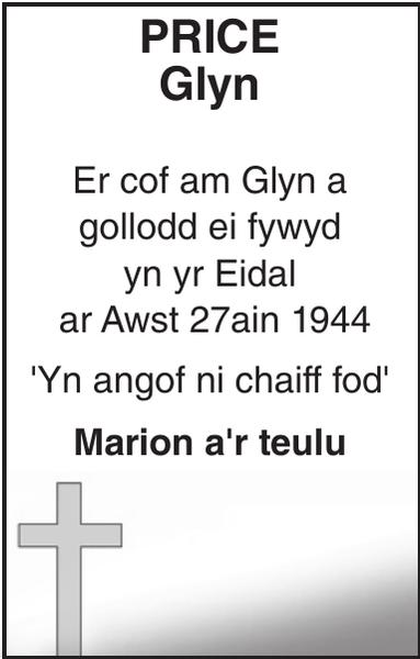 Glyn : Memorial