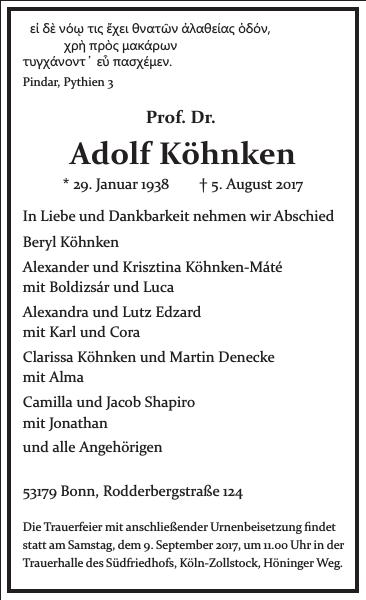Adolf Köhnken