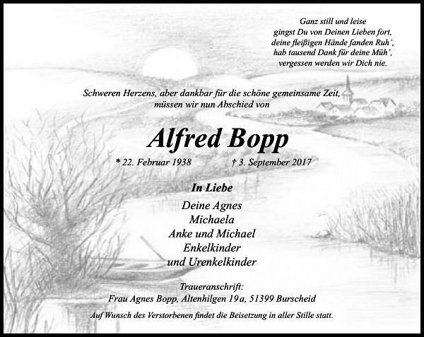 Alfred Bopp