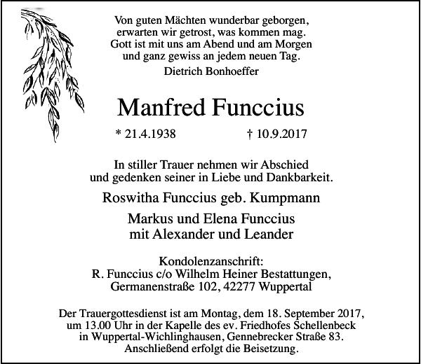 Manfred Funccius