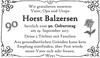 Horst Balzersen