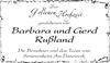 Barbara und Gerd Rußland