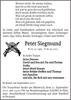 Peter Siegmund