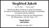 Siegfried Jakob