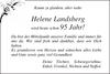 Helene Landsberg