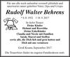Rudolf Walter Behrens