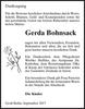 Gerda Bohnsack