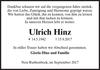 Ulrich Hinz