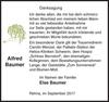 Alfred Baumer