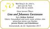 Lina und Johannes Carstensen