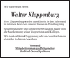 Walter Kloppenburg