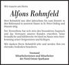 Alfons Rohmfeld