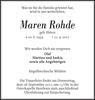 Maren Rohde