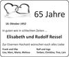 Elisabeth und Rudolf Ressel