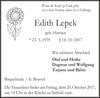 Edith Lepek