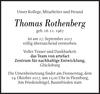 Thomas Rothenberg