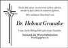 Dr. Helmut Graunke