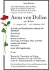 Anna von Dollen