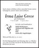 Irma Luise Greve