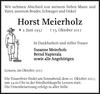 Horst Meierholz