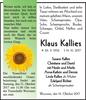 Klaus Kallies