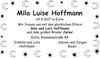 Mila Luise Hoffmann