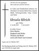 Ursula Ulrich