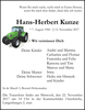 Hans-Herbert Kunze