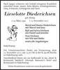 Lieselotte Diederichsen