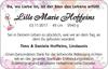 Lille Marie Hoffeins