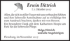 Erwin Dittrich
