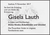 Gisela Lauth