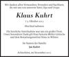 Klaus Kuhrt