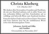 Christa Kleeberg
