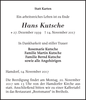 Hans Kutsche