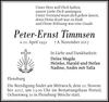 Peter-Ernst Timmsen