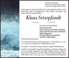 Klaus Setzepfandt